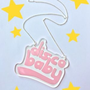 Jewelry - Disco baby necklace